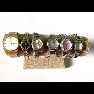Watch Lot Vintage timex Fossil